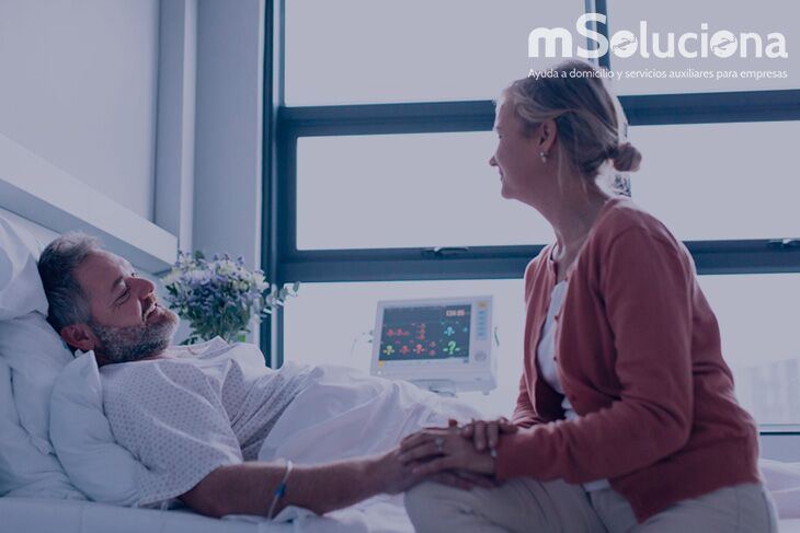 Acompañante de hospital: no sólo para necesidades físicas