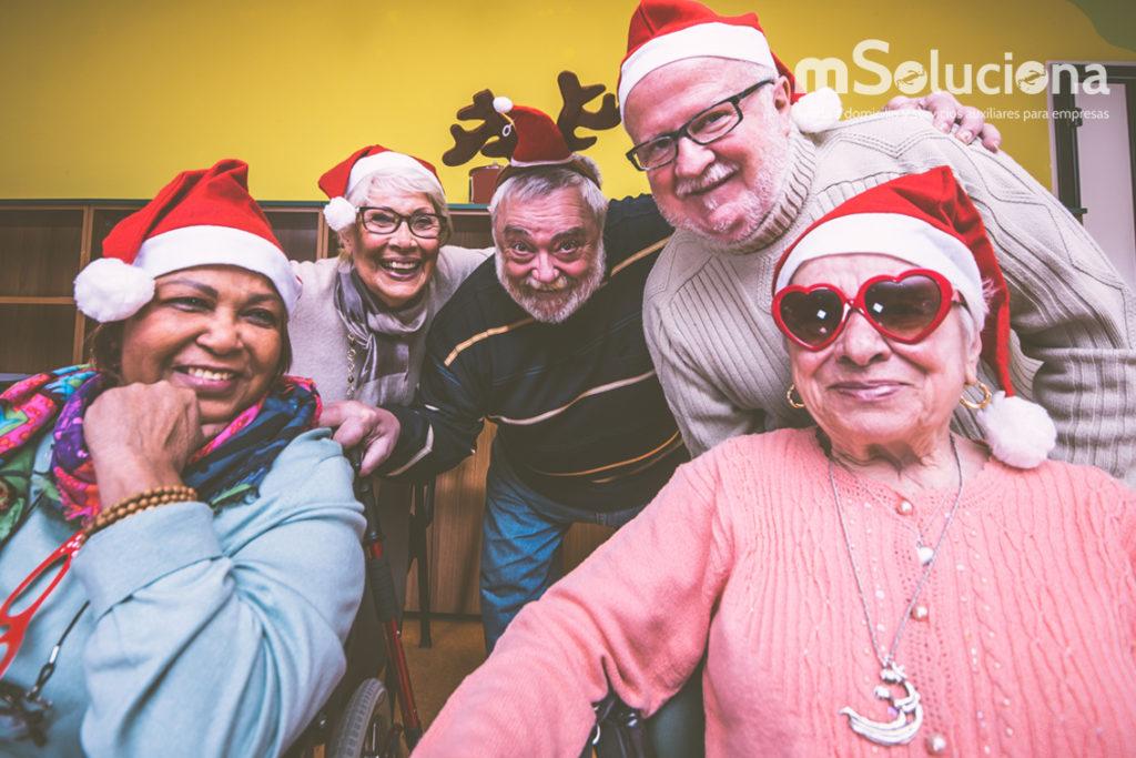 Celebrar la Navidad con personas con alzhéimer es posible